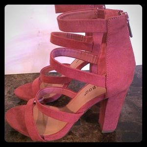 BAMBOO Mauve sandals
